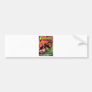 Panther vs Dinosaur Bumper Sticker