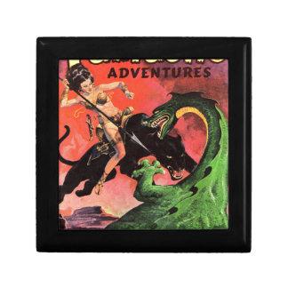 Panther vs Dinosaur Gift Box