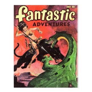Panther vs Dinosaur Letterhead