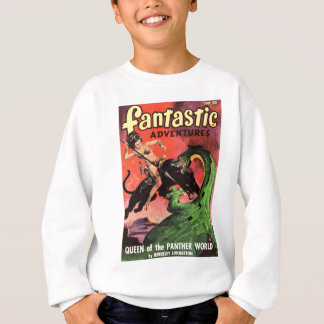 Panther vs Dinosaur Sweatshirt