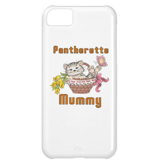 Pantherette Cat Mom iPhone 5C Case