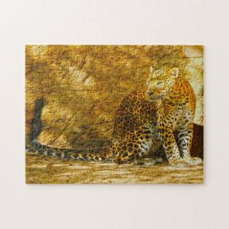 Panthers of Sri Lanka. Jigsaw Puzzle