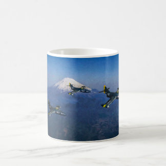Panthers over Japan Coffee Mug