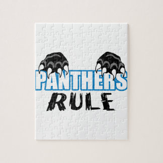 Panthers Rule Jigsaw Puzzle