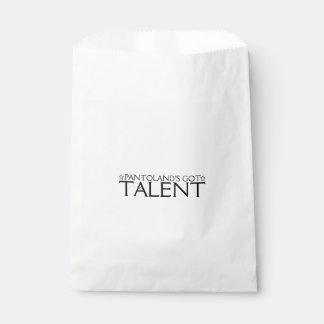Pantoland's Got Talent Favour Bag