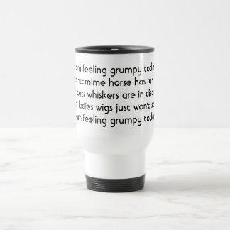 Pantomime. Poem. Black White 15 Oz Stainless Steel Travel Mug