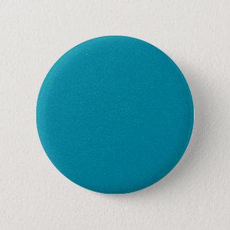 PANTONE Scuba Blue with fine faux Glitter 2 Inch Round Button