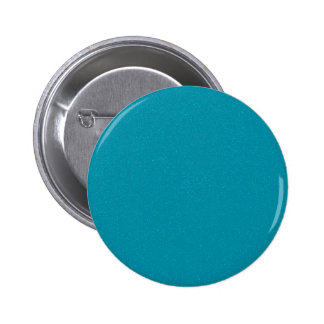 PANTONE Scuba Blue with fine faux Glitter 2 Inch Round Button