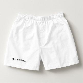Pants cotton BASIC man Boxers