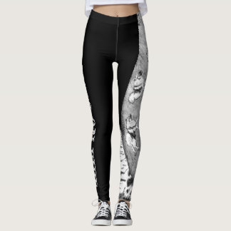 Pants on Fire Keeshond Leggings