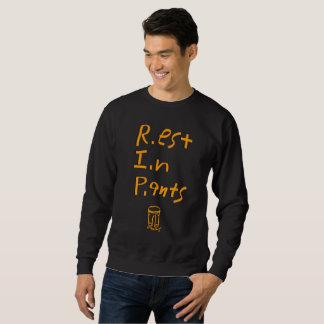 Pants R.I.P Sweatshirt Orange/Black