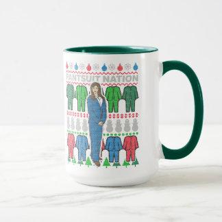 Pantsuit Nation Ugly Christmas Sweater Mug