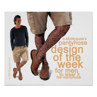 Pantyhose design of the week I. Poster