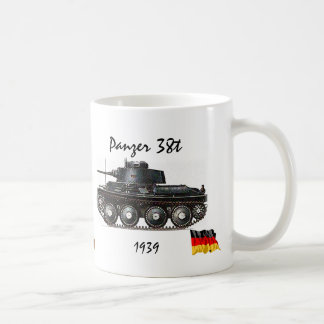 Panzer 38t -WW II Tank Coffee Mug