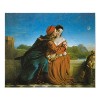 Paolo and Francesca, 1827 Poster