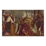 Paolo Veronese - Christ and centurion of Capernaum Poster