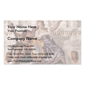 Paolo Veronese: Prudence and Manly Virtue Pack Of Standard Business Cards