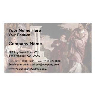 Paolo Veronese- Youth between Virtue and Vice Pack Of Standard Business Cards
