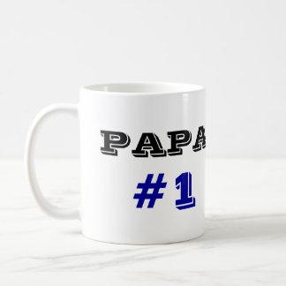 PAPA  #1 COFFEE MUG