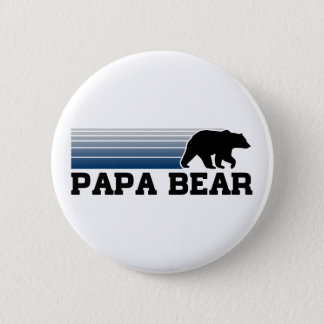 Papa Bear 2 Inch Round Button