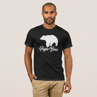 PAPA BEAR BABY BEAR FATHER SON GIFT T-Shirt
