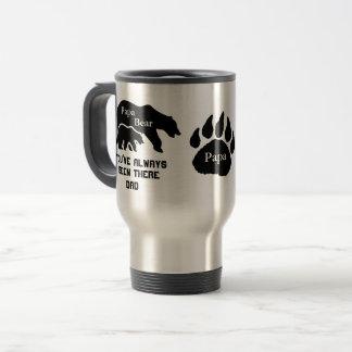 Papa Bear/Baby Bear Travel Mug