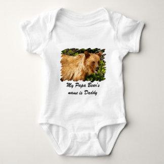 Papa Bear Baby Bodysuit