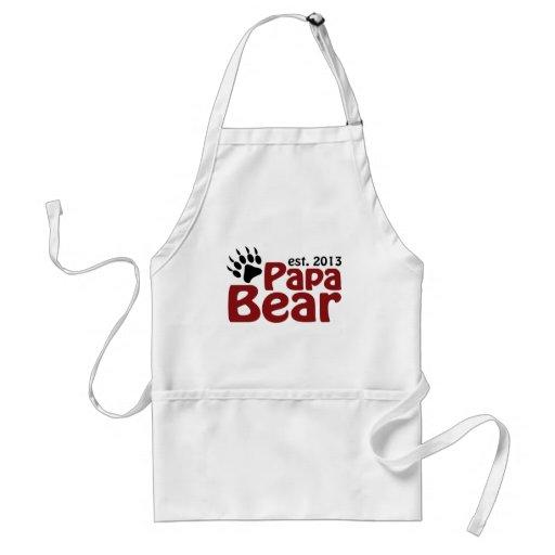 Papa Bear Claw 2013 Aprons