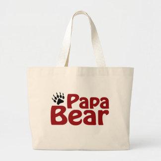 Papa Bear Claw Jumbo Tote Bag