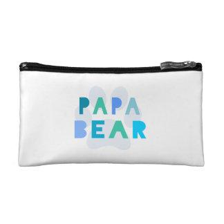 Papa bear cosmetics bags