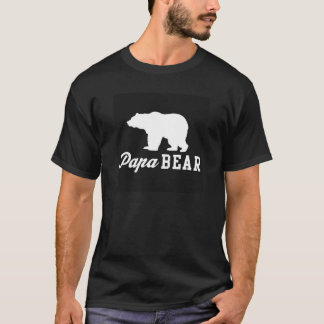 Papa Bear graphic tee