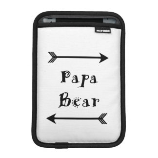 Papa Bear iPad Mini Sleeve