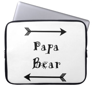 Papa Bear Laptop Sleeve