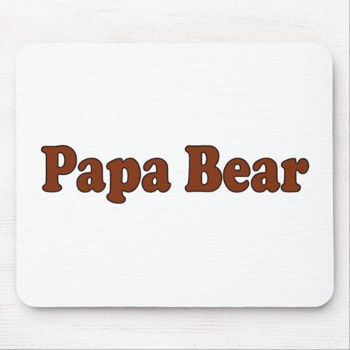 Papa Bear Mouse Pads