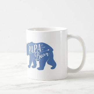 Papa Bear Mug, Papa Bear Cup, dad or papa gift, Coffee Mug