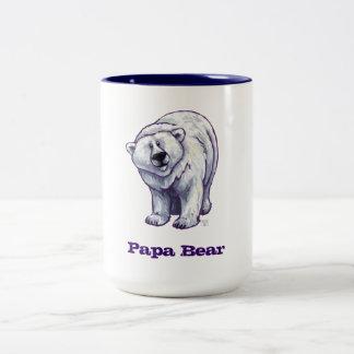 Papa Bear Polar Bear Mug