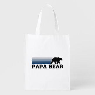 Papa Bear Reusable Grocery Bag