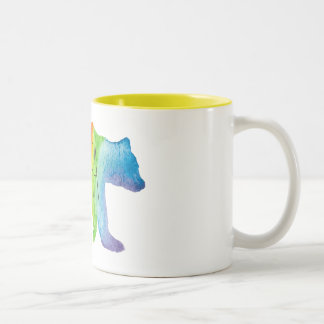 Papa Bear Watercolor Family Pride Mug