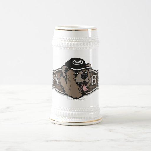 Papa Bear Wear Logo Mugs