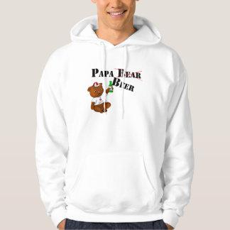 Papa Beer Hooded Pullovers