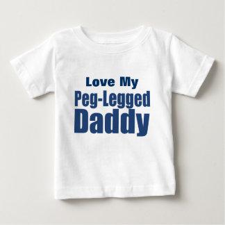 Papa Cheville-À jambes T-shirt Pour Bébé