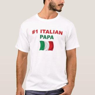 Papa de l'Italien #1 T-shirt