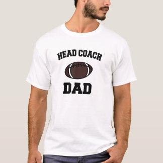 Papa de premier entraîneur t-shirt