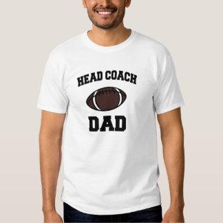 Papa de premier entraîneur tee shirts