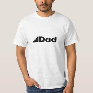 Papa d'étape - un T-shirt blanc pour le beau-père