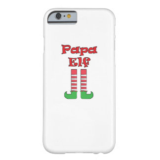 Papa Elf Matching Couple Christmas Barely There iPhone 6 Case
