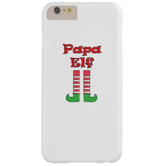 Papa Elf Matching Couple Christmas Barely There iPhone 6 Plus Case