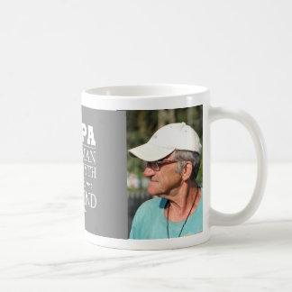 Papa fait sur commande de photo la légende mug