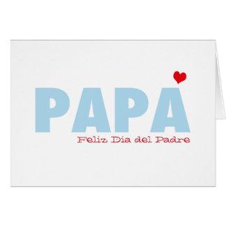 Papa Feliz Dia del Padre Card