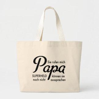 Papa Jumbo Tote Bag